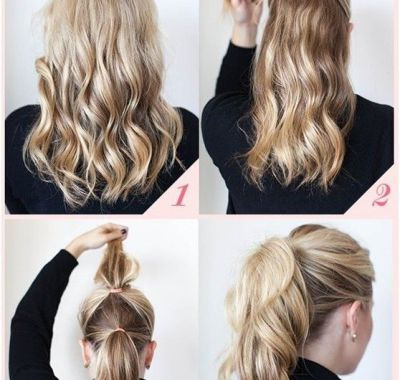 Simple Ponytail Hairstyles for Long Hair