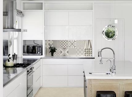 Material: piastrelle cucina: idee e soluzioni in ceramica e gres