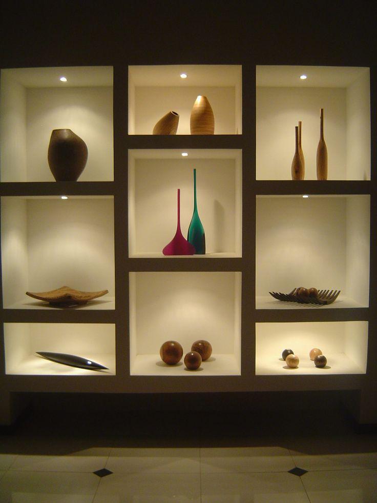 25 melhores ideias sobre closet de gesso no pinterest - Estantes para pared ...