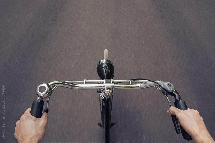 Riding A Bicycle  by Julien L. Balmer