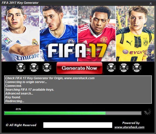 FIFA 17 Key Generator