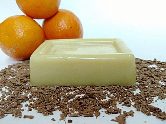Chocolate Orange Lotion Bar, Cocoa Butter Lotion Bar, Lotion Bar, Chocolate Covered Orange Lotion Bar, Organic Lotion Bar, Vegan Lotion