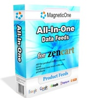 Zen Cart All-in-One package includes all available product feed packages developed by MagneticOne for Zen Cart shopping cart. You get maximum exposure listing your products in all major Search Comparison engines. Package includes: ... Zen Cart Google Base Data Feed ... Zen Cart Froogle Data Feed ... Zen Cart shopping.com Data Feed ... Zen Cart shopzilla.com Data Feed ... Zen Cart RSS Export ... Zen Cart ShareASale Data Feed ... Zen Cart MySimon.com Data Feed ... Zen Cart Yahoo Stores Data…