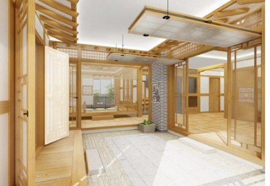 Modern Hanok, Korean traditional house...gorgeous