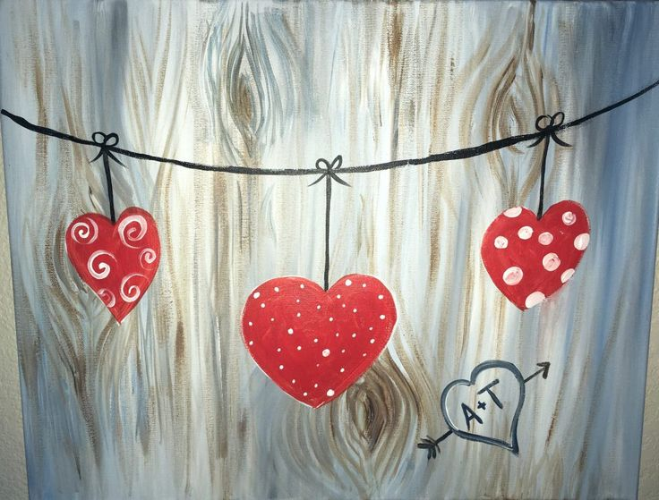valentines day archives step by step painting - 736×559
