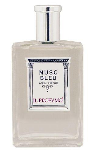 Musc Bleu IL PROFVMO - Linia Osmo. Uwodzicielska harmonia perfum koncentruje się na erotycznej mocy naturalnego piżma, zmieszanego z niewinnymi nutami kwiatowymi. Intensywne i bogate serce, złożone z geranium, ylang-ylang i cyklamenu, sprawia, że zapachowi trudno się oprzeć. Charakter: Intensywny, zmysłowy