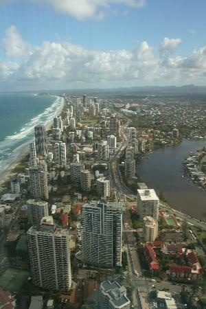 Surfers Paradise, #Australia:                                     View south from Skypoint #travel