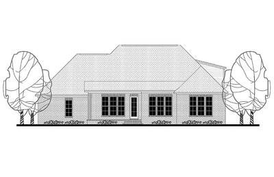 Plan 51749HZ: Four Bed French Acadian Home Plan with Optional Bonus Space