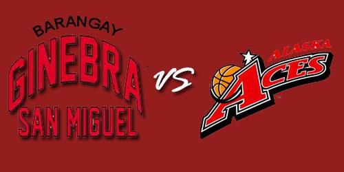 PBA Barangay Ginebra San Miguel Kings vs Alaska Aces Live Stream February 23, 2013