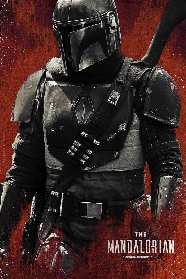 The Mandalorian fan made poster StarWars Star wars