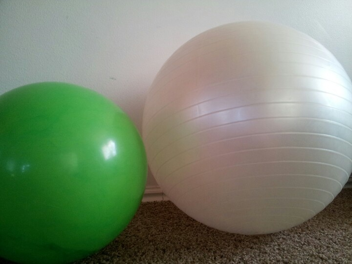 Ideas for the egg Horton sits on....exercise ball, and $5 ...