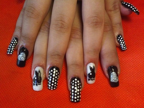 155 best playboy images on pinterest nail arts makeup and beach playboy with dots playboydotshairnail designthe prinsesfo Image collections