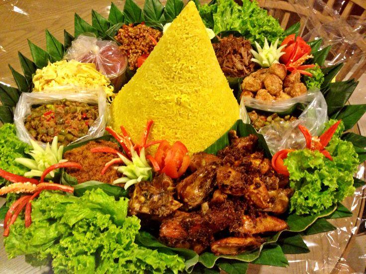 Nasi Tumpeng.. Special menu from us..
