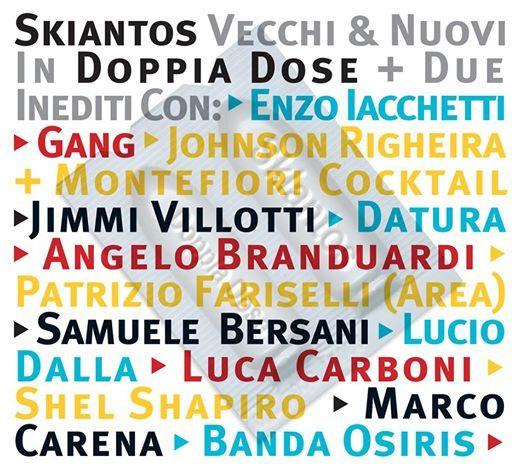 """Reprint del CD di """"Doppia Dose """" uscito il 30 settembre 2014 , prodotto da ALA BIANCA ,contiene 2 inediti :"""" Fuck that kunt"""" cantata da Dandy Bestia e """"Evacuazioni """" cantata da Freak Antoni . Acquistabile al link: http://shop.beatstream.it/prodotto/skiantos-doppia-dose-reprint-2014/"""