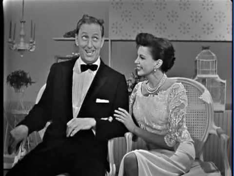Judy Garland & Ray Bolger discussing the Wizard Of Oz on the Judy Garland Show.  So amazingl...