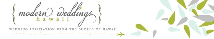 Modern Weddings Hawaii Destination Bride Inspiration Hawaii Wedding Vendors logo