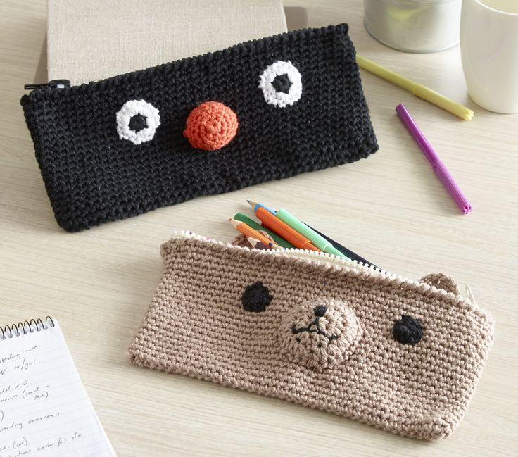 56 best Crochet - Pencil Case images on Pinterest ...