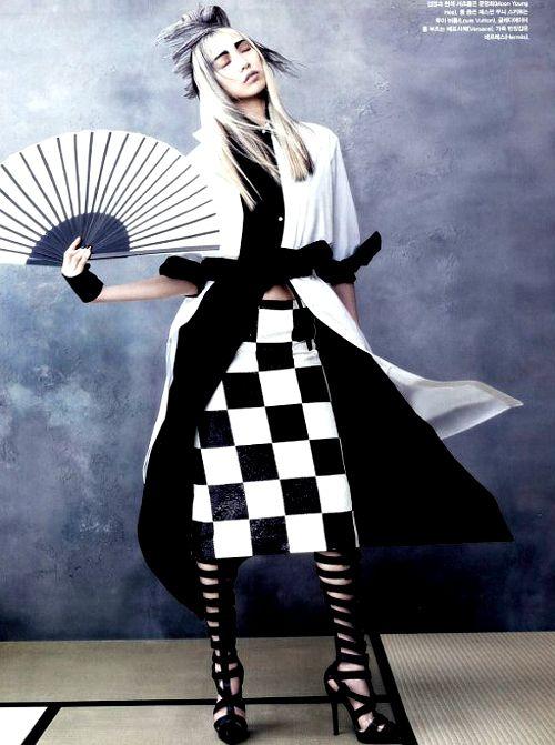 she-loves-fashion:  Soo Joo by Hyea-Won Kang for Vogue Korea June 2013