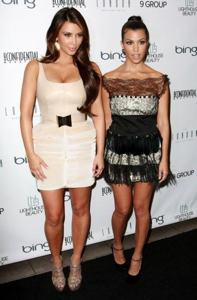 Celebs at LA Confidential fall issue party  k sister minus 1