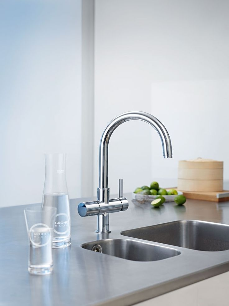 28 best grohe kitchen inspiration images on pinterest kitchen faucets kitchen taps and. Black Bedroom Furniture Sets. Home Design Ideas
