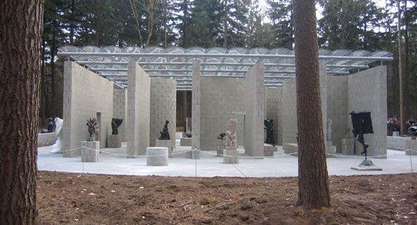 architecture-frozenmusic: Temporary Sculpture Pavilion, Arnhem, The Netherlands - Aldo van Eyck