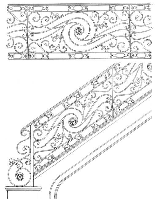 Stair Railing Designs ISR102