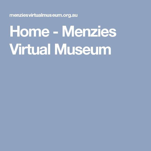 Home - Menzies Virtual Museum