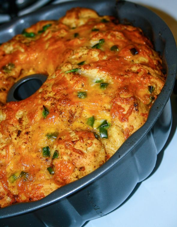Cheesy Mexican Pull-Apart Bread