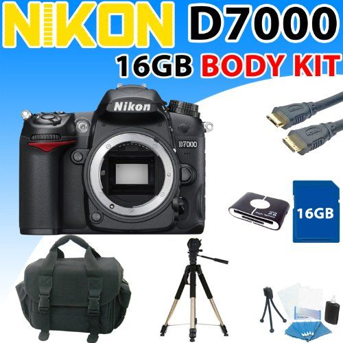 Nikon D7000 D-7000 Digital SLR Camera (Body) with Premium 16gb Shooter Kit - http://slrscameras.everythingreviews.net/11845/nikon-d7000-d-7000-digital-slr-camera-body-with-premium-16gb-shooter-kit.html