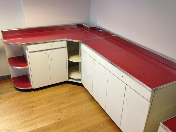 Cucina anni '50 prima del restyling...