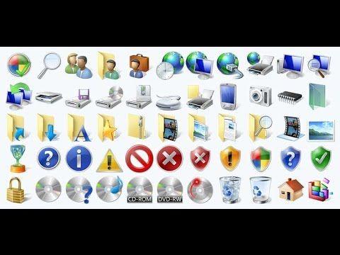 Cara mengganti gambar icon file folder di window 7 dengan simpel tampa a...