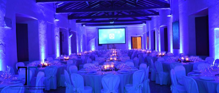 CASTELLO SAN SALVATORE, CENA AZIENDALE NATALIZIA, ILLUMINAZIONE ARCHITETTURALE,  FARI  LED WIRELESS RICARICABILI, PROIEZIONE LOGO AZIENDALE, PALCO, LIVE BAND, TELO DA RETROPROIEZIONE, VIDEO PROIETTORE, REGIA, DIFFUSORI AUDIO, SUBWOOFER, MIXER,  MICROFONI, SAN SALVATORE CASTLE, COMPANY CHRISTMAS DINNER, ARCHITECTURAL LIGHTING, LED RECHARGEABLE WIRELESS LIGHTS, COMPANY LOGO PROJECTION, STAGE, LIVE BAND, REAR PROJECTION, VIDEO PROJECTOR,  DIRECTING, AUDIO SPEAKERS, MICROPHONES, TONDELLO…