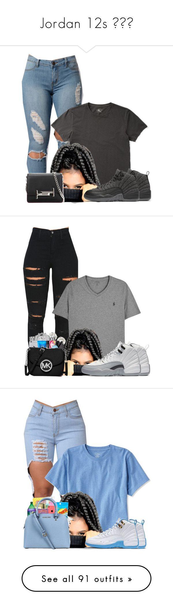 Jordan 12s by prinxcess-adri ❤ liked on Polyvore featuring Ralph Lauren, NIKE, Tod's, Vibrant, Polo Ralph Lauren, L.L.Bean, ban.do, MCM, Retrò and MICHAEL Michael Kors
