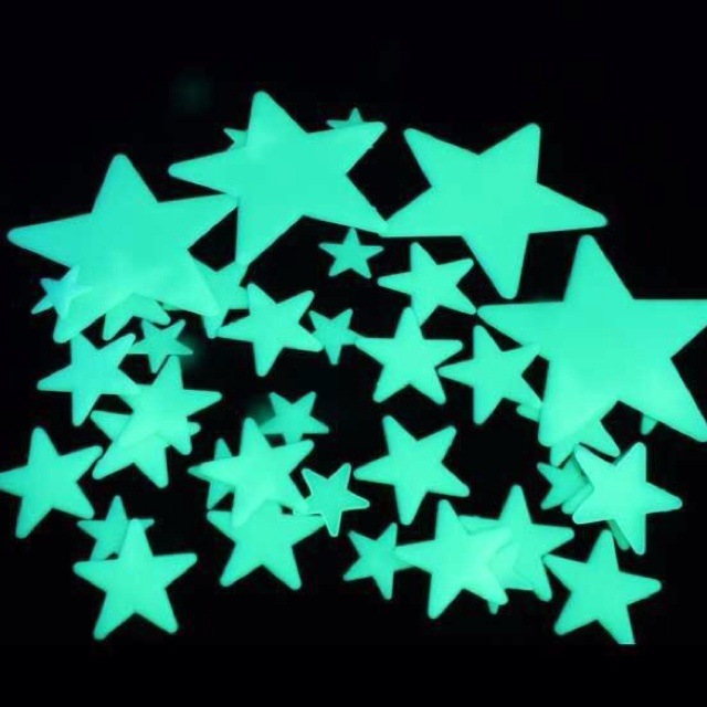 Only 90s kids know what these are. (haha, my ceiling was covered in these! )