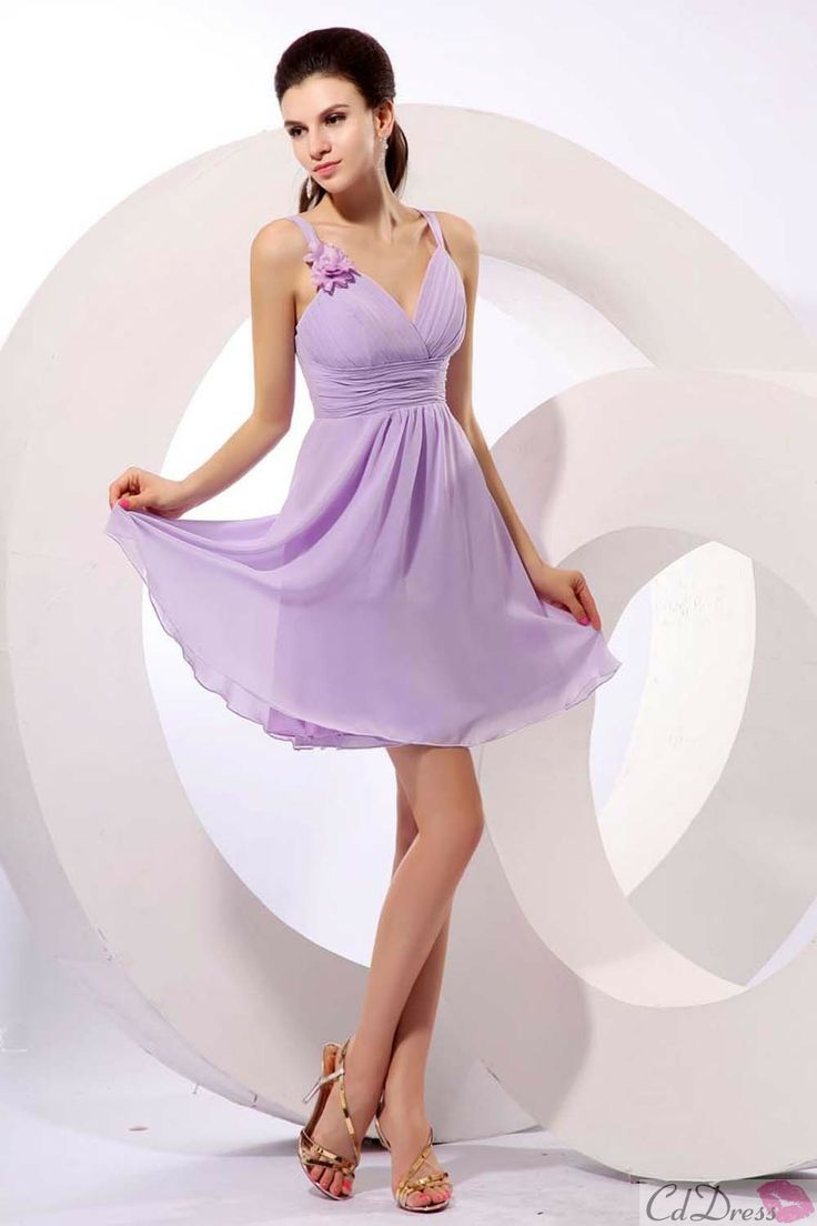 90 best bridesmaids dresses images on pinterest chiffon dresses lilac bridesmaid dress purple homecoming ombrellifo Images