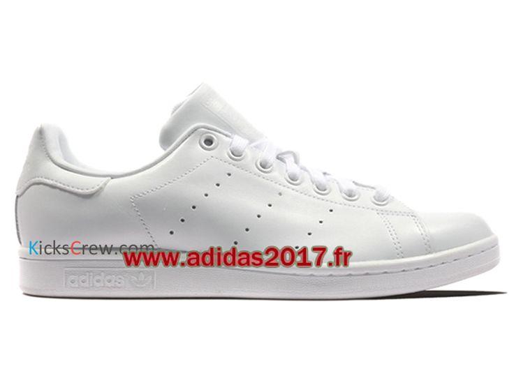 Adidas Stan Smith - Chaussure Adidas Originals Pas Cher Pour Homme/Femme Blanc S75104