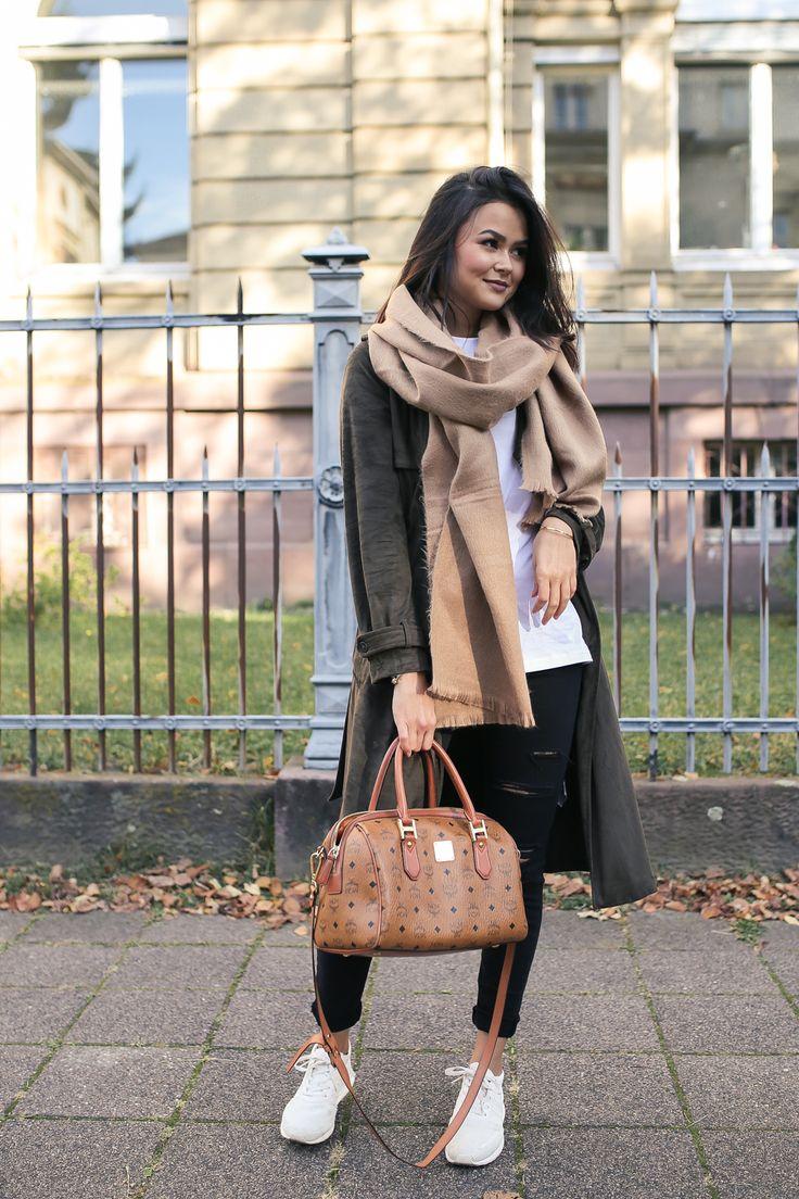 Outfit: oversize Schal – Marybeniga