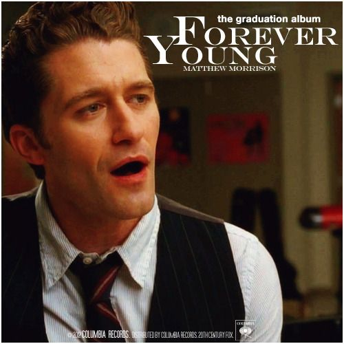 Glee: The Graduation Album | Forever Young Alternative Cover