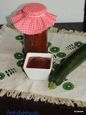 Moje Małe Czarowanie: Keczup z cukini