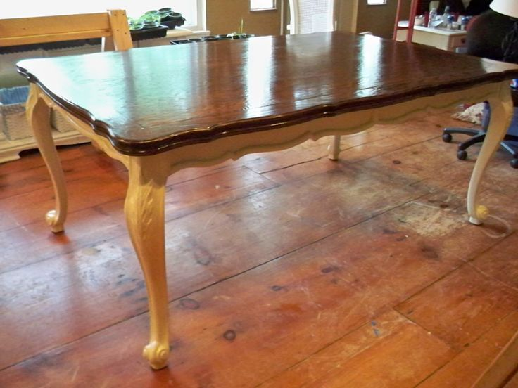 How To Stain A Diy Dining Table Top Monty Extending Dining Table ...