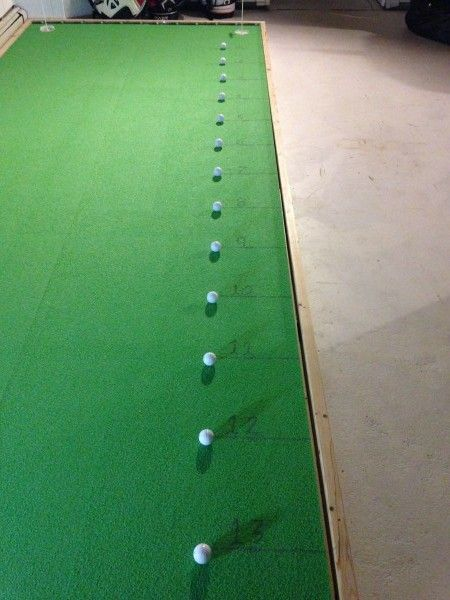 How To Build An Indoor Putting Green 8