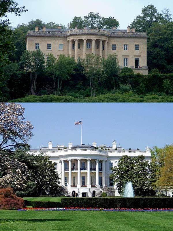 La maison blanche serait inspir e d 39 un difice fran ais scmb images - La maison blanche la rochelle ...