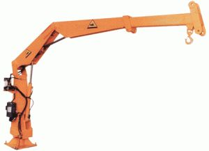 Truck-Mounted Knuckle Boom Crane