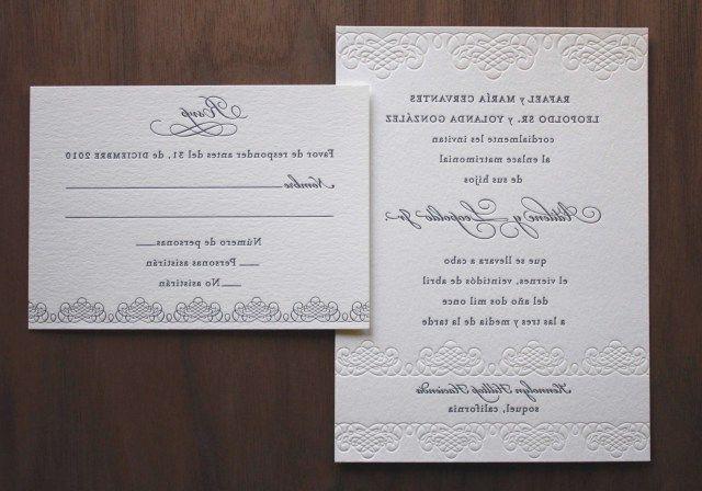 35 Wonderful Image Of Emily Post Wedding Invitation