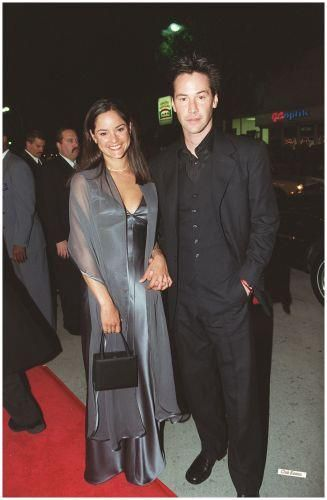 Keanu and his sister Kim