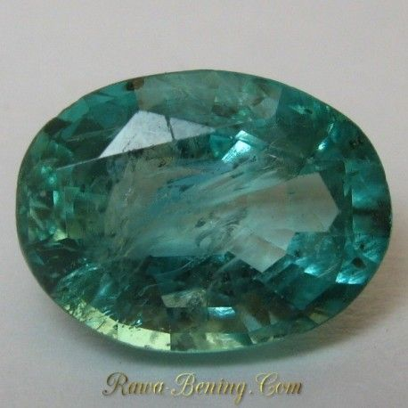 Batu Mulia Emerald Exclusive Green 1.10 carat