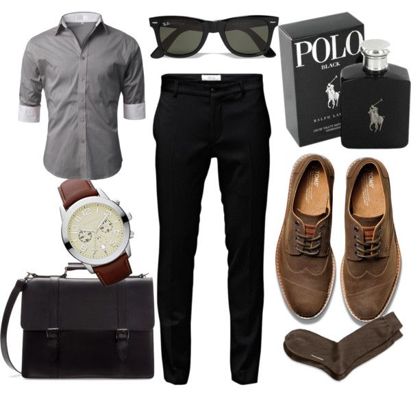 """""""Boyfriend's professional outfit"""" by argibb on Polyvore"""