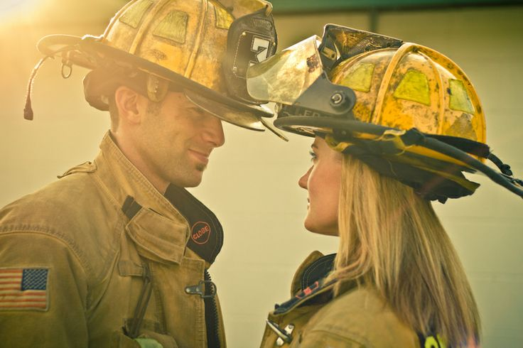 Firefighter Love by Andrew Studebaker on 500px