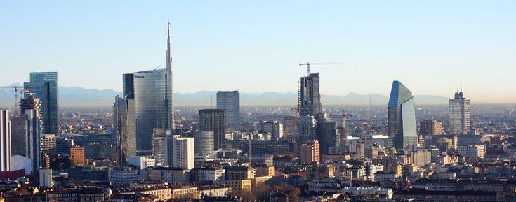 Milano skyline 02 - Global city - Wikipedia, the free encyclopedia