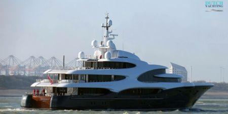 Yacht Barbara - Vladimir Potanin